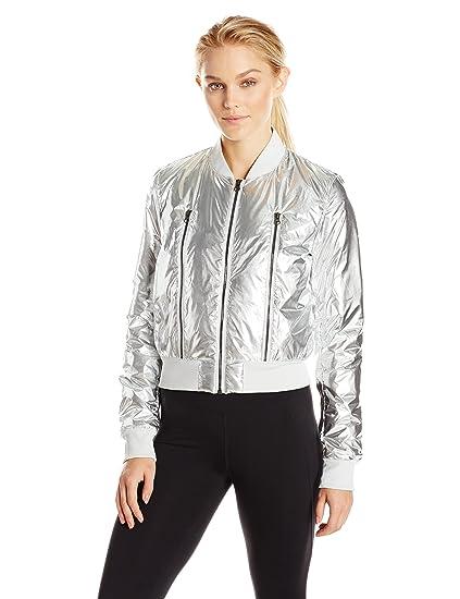 Alo Yoga Womens Off Duty Bomber Jacket Shell Jacket