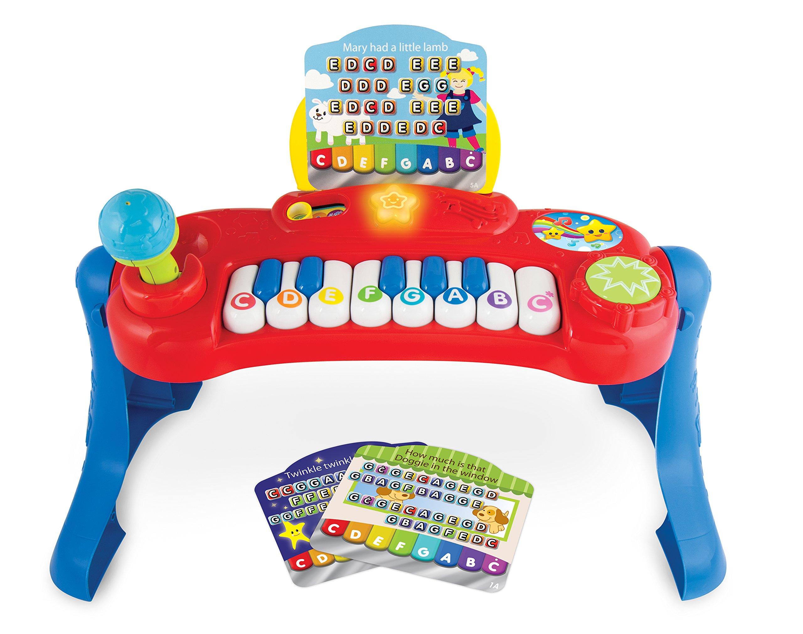 WinFun Baby Music Center Musical Keyboard, Red by WinFun