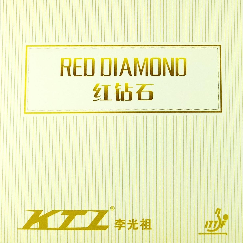 KTLレッドダイヤモンドPro Red Pips in Table Tennisラバーシート B00ZBL9BI0