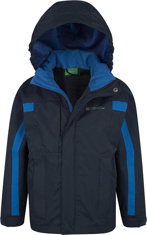 Mountain Warehouse Samson Waterproof Kids Rain Jacket