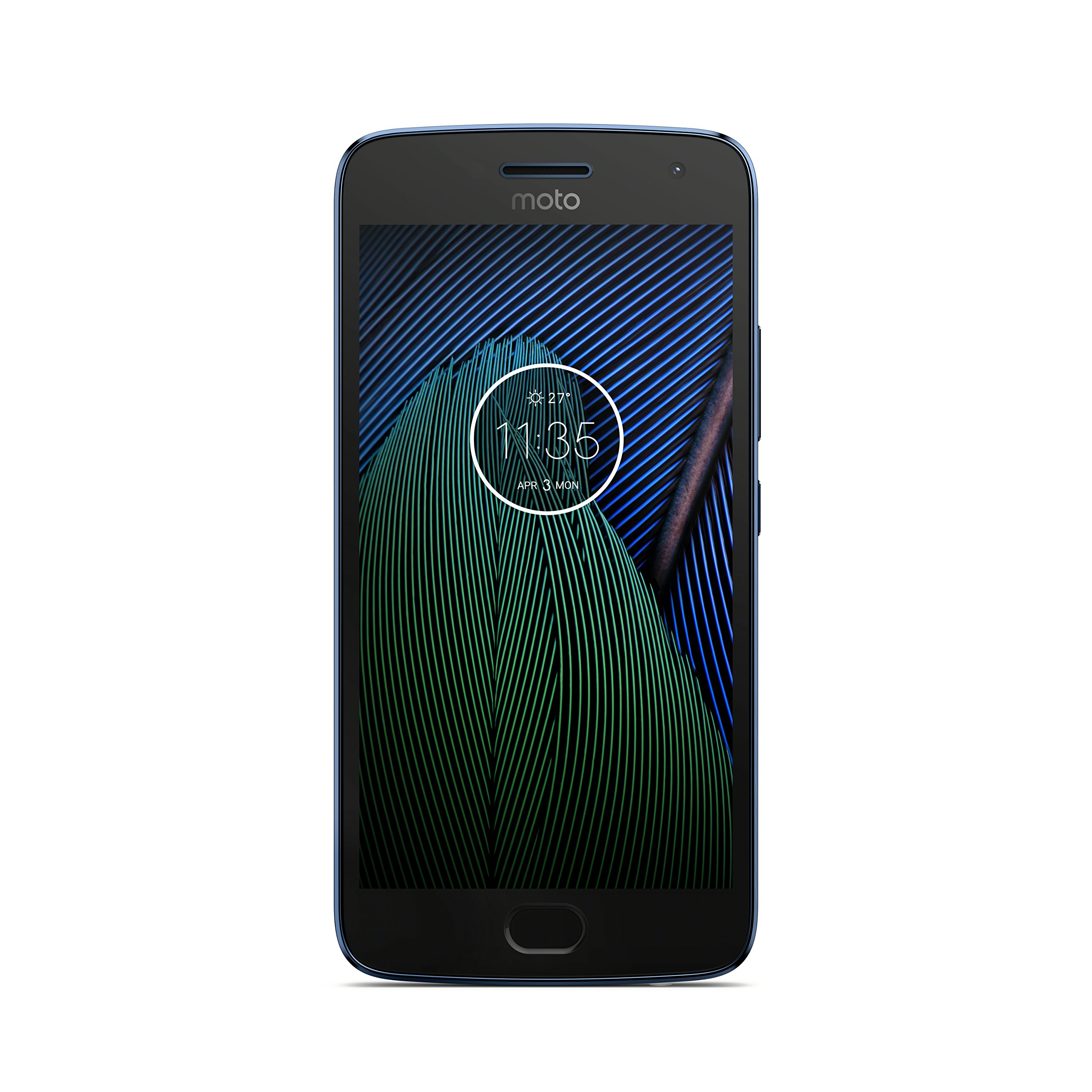 モトローラ SIM フリー スマートフォン  Moto G5 Plus 32GB オックスフォードブルー 国内正規代理店品 AP3824AE3J4