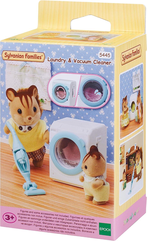 Sylvanian Families - 5445 - Set de lavadora y aspiradora