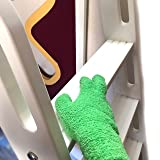 EvridWear Microfiber Dust Cleaning Gloves for House Cleaning, Perfect to Clean Mirrors, Lamps and Blinds. Auto Dusting Cleaning Gloves for Cars