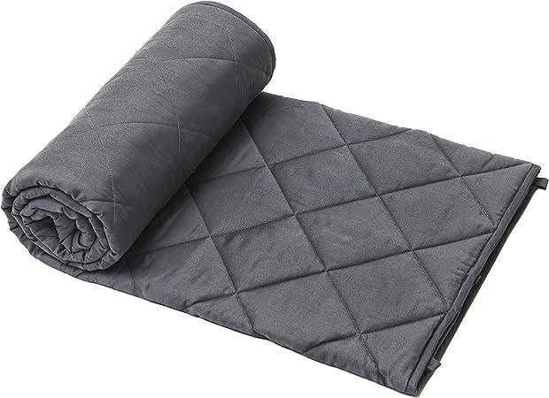Gewichtsdecke Weighted Blanket Schwere Therapiedecke Weighted Decke Blau/& Grau