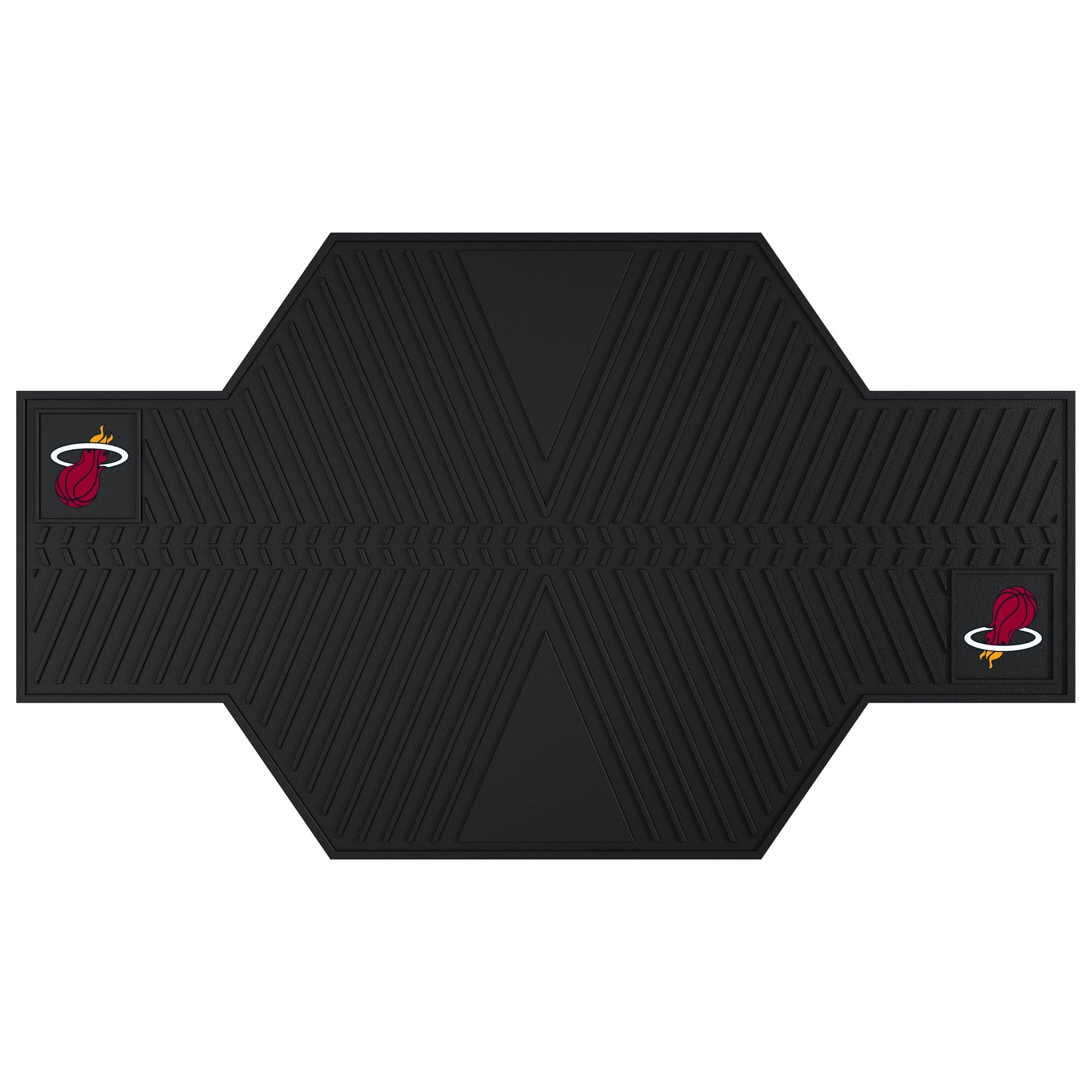 FANMATS 15383 NBA Miami Heat Motorcycle Mat