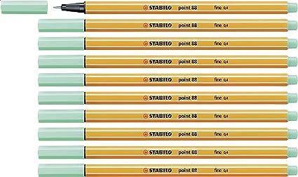 dunkelrot Fineliner STABILO point 88-10er Pack