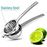 Lemon Squeezer,WERTIOO Manual Citrus Press Juicer Premium Quality Stainless Steel Orange ,Lime squeezer Fruit Juice