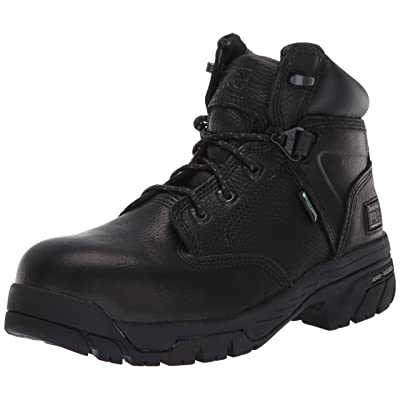 """Timberland PRO Men's Helix 6"""" Waterproof Composite Lace-Up Boot   Industrial & Construction Boots"""
