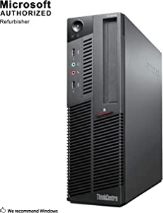 LENOVO THINKCENTRE M90P SFF Computer, Intel Core i5-650 up to 3.6GHz, 8G DDR3, 360G SSD, DVDRW, WiFi, BT 4.0, VGA, DP, Window 10 64 Bit-Multi Language Supports English/French/Spanish(Renewed)