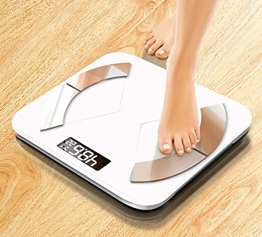 Amazon.com: Electronic Smart Bathroom Weight Scale Weights Android iOS International Version APP PK 180kg,Blue: Health & Personal Care