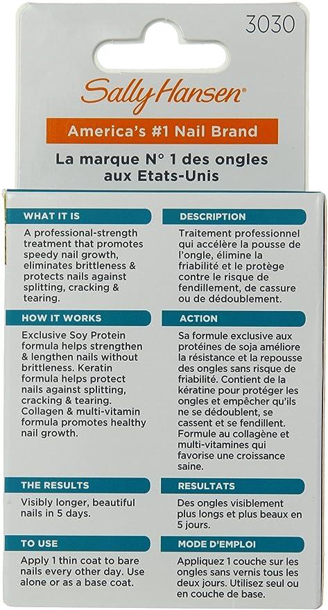 Sally Hansen Nailgrowth Miracle, Serum 0.45 oz Clear: Amazon.ca: Beauty