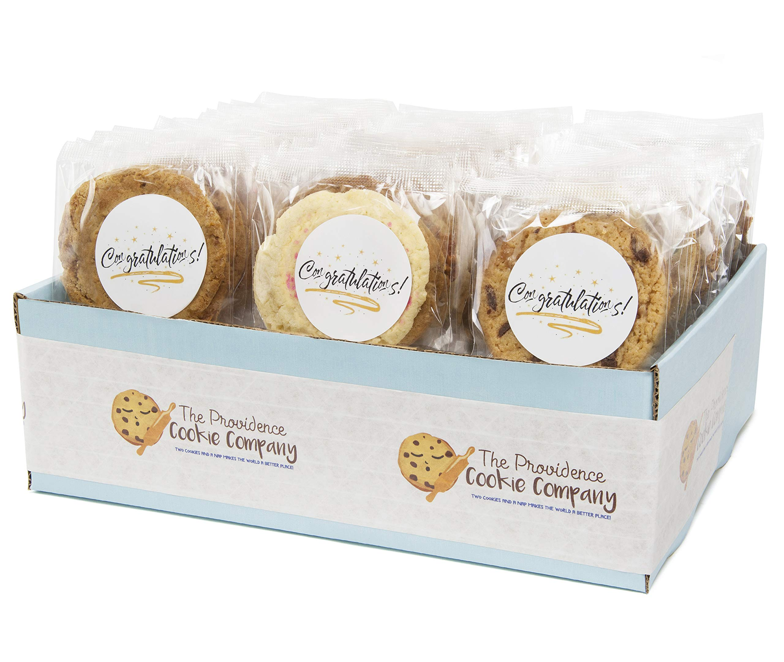 The Providence Cookie Company CONGRATULTIONS! GOURMET COOKIE GIFT choose 1, 2, 3 or 4 Dozen (1 Dozen)