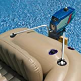 Intex Composite Support Boat Motor Mount Kit for Inflatable Fishing Boat or Raft