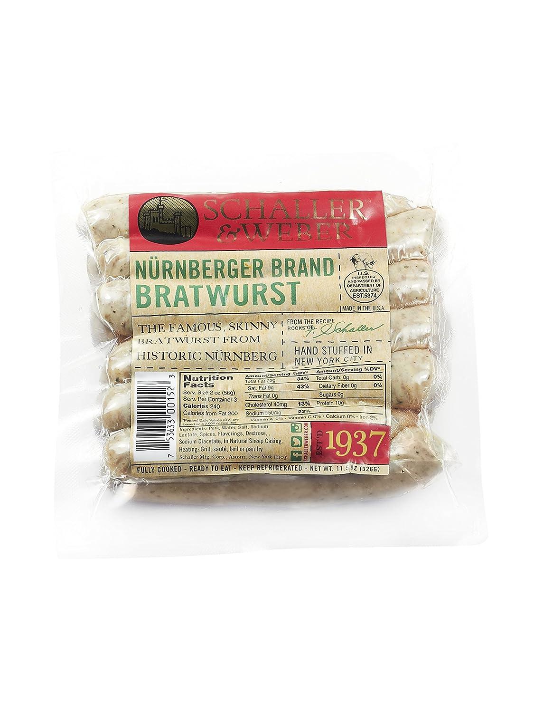 Schaller & Weber Nuernberger Bratwurst