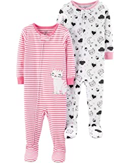 151330c6d Carter s Baby-Girls 2-Pack Cotton Pajamas Pajama Set  Amazon.co.uk ...