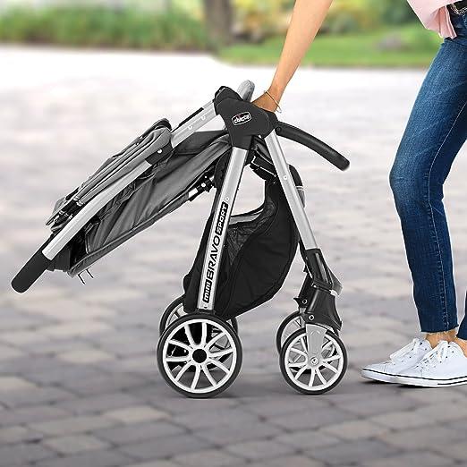 Amazon.com: Chicco Mini Bravo Sport Travel System, Carbon: Baby