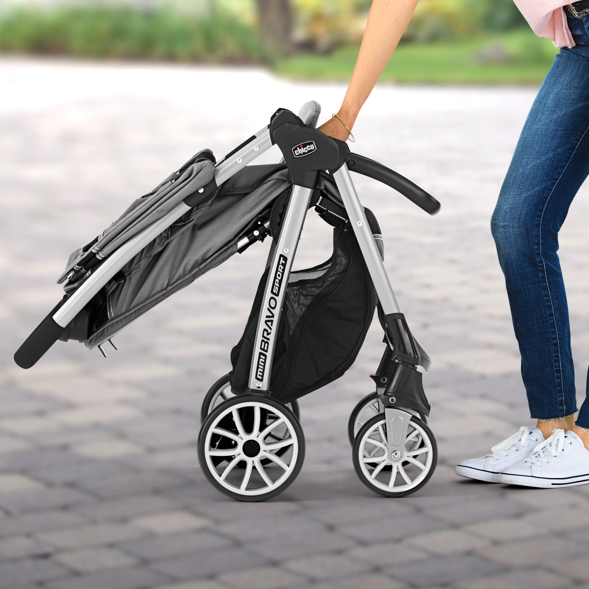 Chicco Mini Bravo Sport Travel System, Carbon by Chicco (Image #7)
