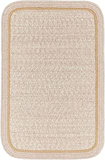 product image for Rhody Rug CC58R024X072S 2 x 6 ft. Casual Comfort Sesame Banded Braided Rug44; Rectangle-Runner