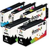 Ilooxi 5X Druckerpatronen Kompatibel für HP 950 XL 951 für HP Officejet Pro