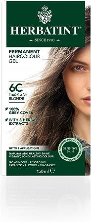 Herbatint Tinte Rubio Oscuro Ceniza 6C - 150 gr: Amazon.es ...