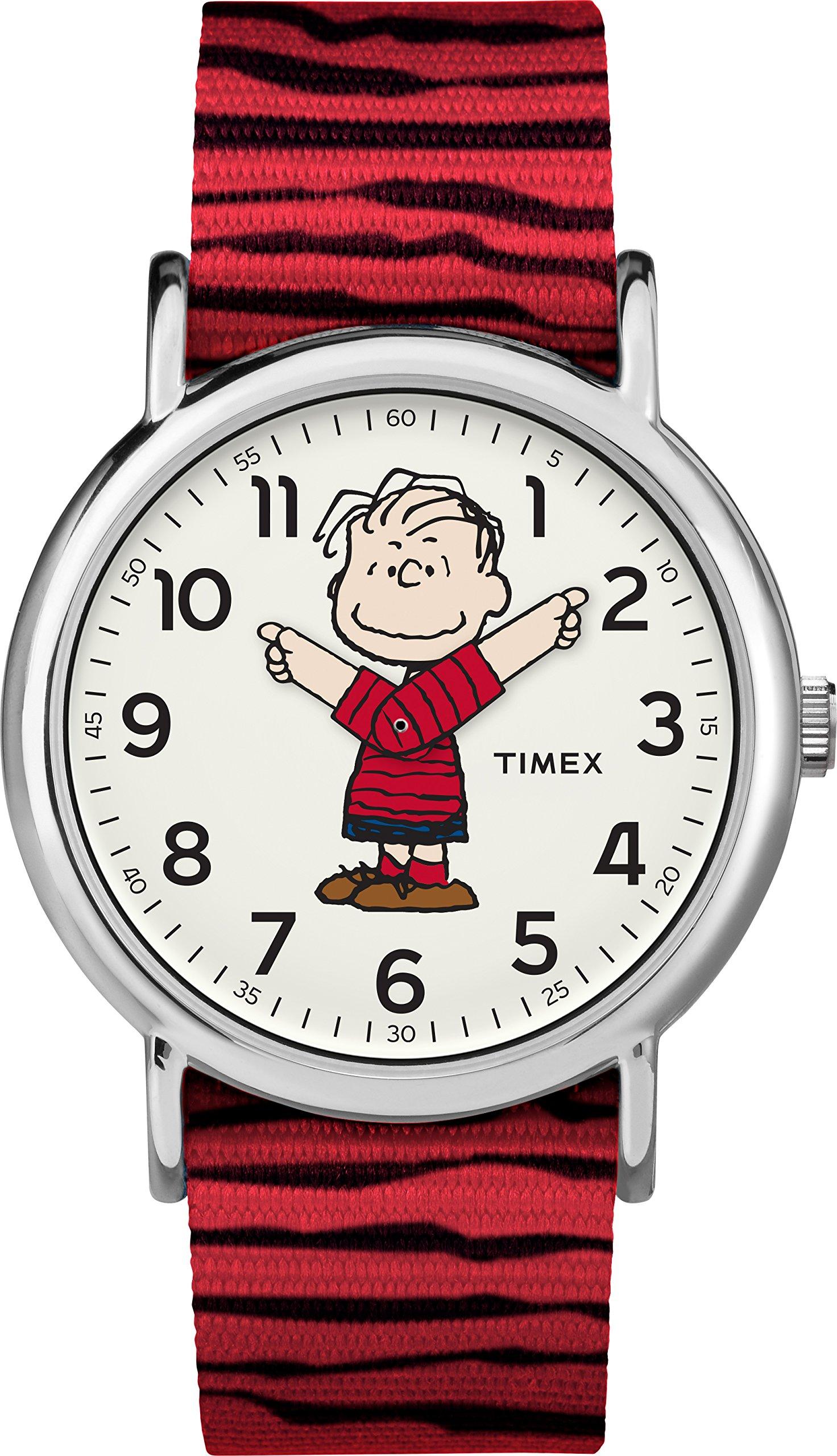 Timex x Peanuts Linus Unisex Watch TW2R412006B - Girls Watches by Timex
