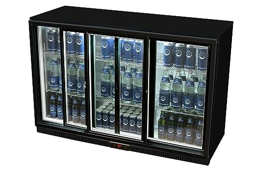 Mini Kühlschrank Mit Glastür : Glastür kühlschrank 90 x 135 x 52 cm schwarz getränkekühlschrank