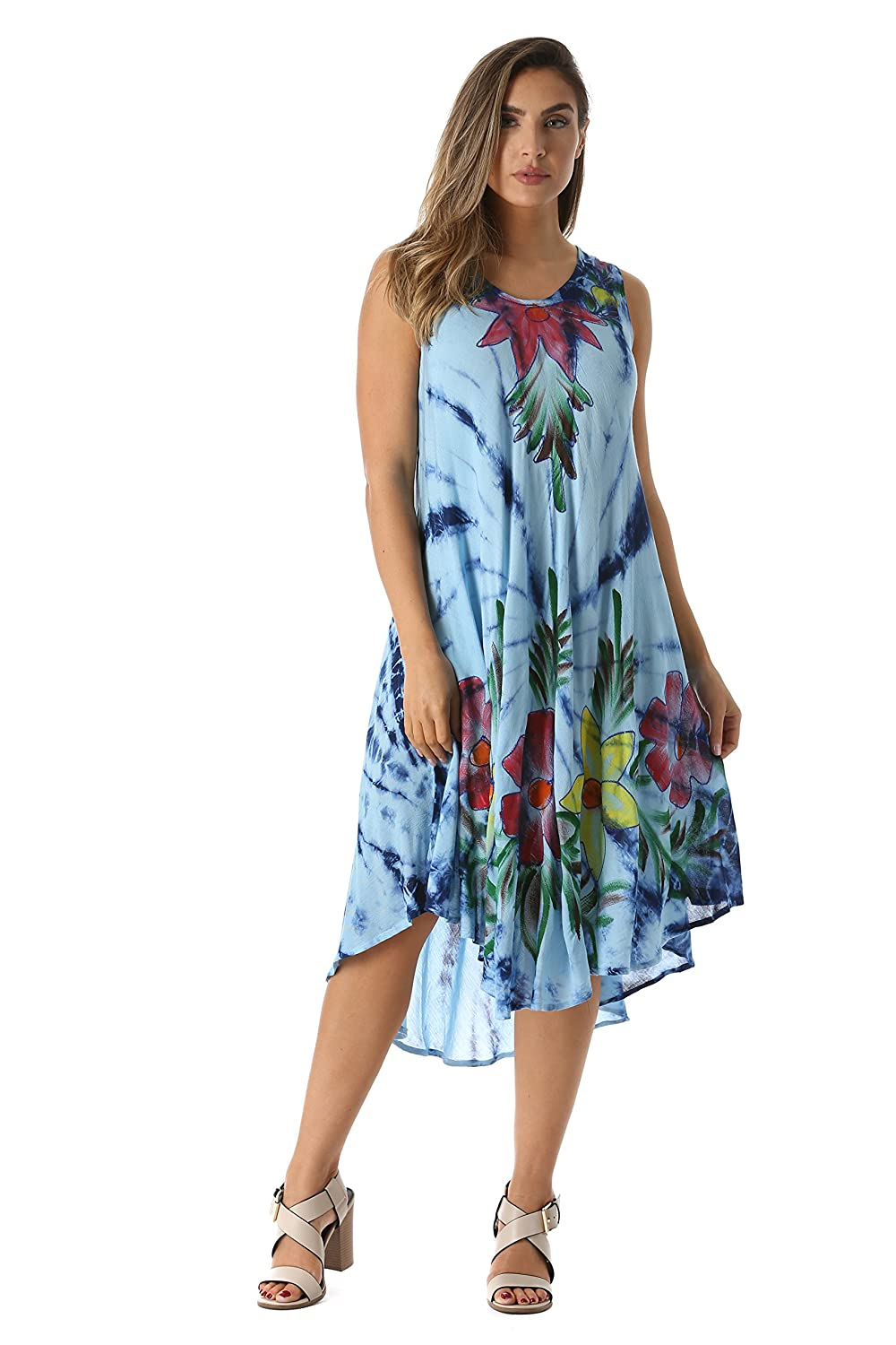 839c336f8c SWITCH IT UP: You'll love the versatility of these summer casual dresses.  You can dress them up with wedges for that afternoon lunch, pair them with  flip ...
