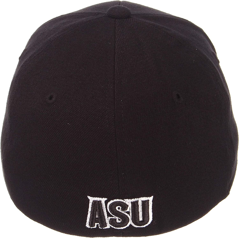 Black Small NCAA Zephyr Arizona State Sun Devils Mens ZH Black Stretch Fit Hat