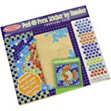 Melissa & Doug Peel And Press Sticker By Number - Tropical Fish