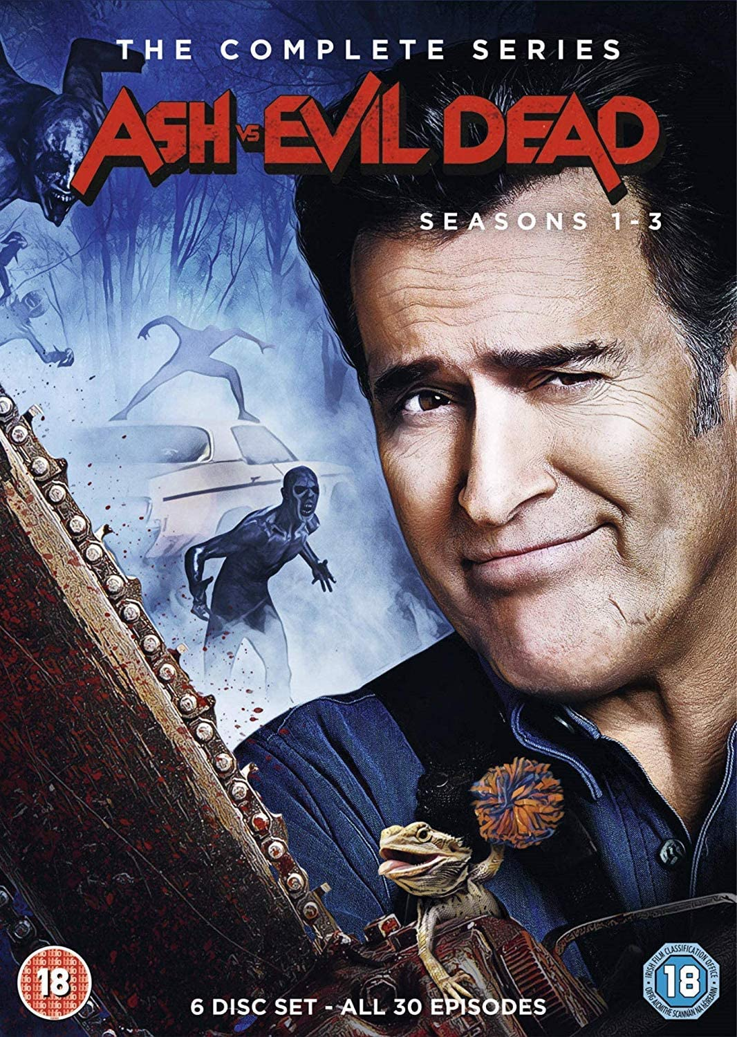 Ash Vs Evil Dead Seasons 1 3 Region 2 Amazon Ca Dvd
