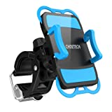 Bike Phone Mount, CHOETECH Upgraged Quick-release Universal Bicycle Handlebar & Motorcycle Holder Cradle for iPhone 7, 7Plus, 6S Plus 5S 5C, Galax S7 Edge, LG G5, HTC10 and More (360 Degree Rotation)