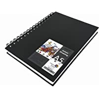 Brustro Artists' Sketch Book Wiro Bound A5-160 GSM, 116 Pages (Acid Free)