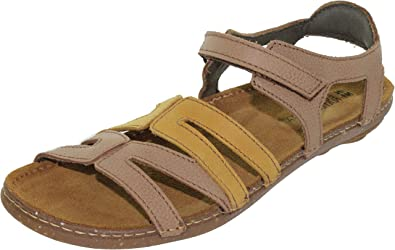 El Naturalista N5220 SOFT GRAIN MUESLI MIXED/ TORCAL Multicolore - Chaussures Sandale Femme