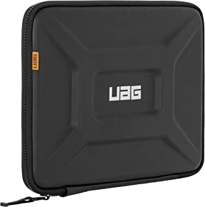 URBAN ARMOR GEAR UAG Medium Sleeve for 11-13-inch Devices [Black] Rugged Tactile Grip Weatherproof Protective Slim Secure Laptop/Tablet Sleeve