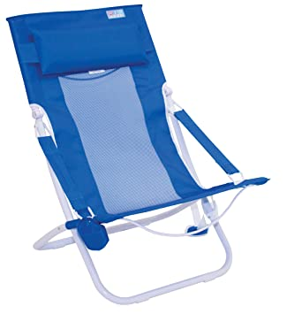 Amazon.com: Rio Beach - Silla de playa plegable compacta y ...