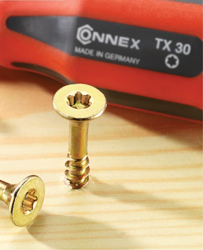 Connex B30082 Vis universelles 4,0 x 50 TX galvanis/és 425 g