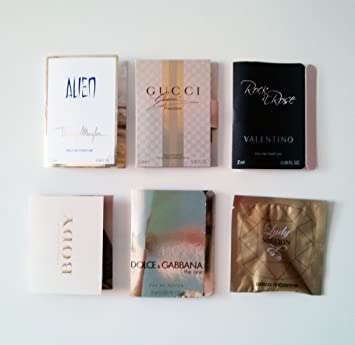 Amazoncom Sephora Luxury Perfume Vial Sampler Set Of 6 Great
