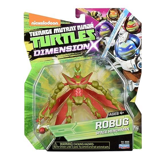 Teenage Mutant Ninja Turtles Dimension X Robug Action Figure ...