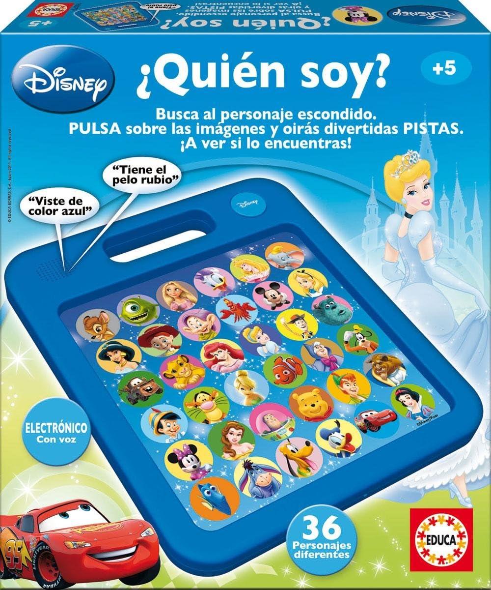Educa Borrás 15079 - ¿Quien Soy? Disney: Amazon.es: Juguetes y juegos