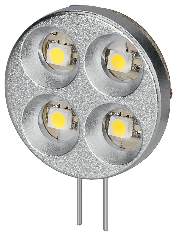 goobay LED Chip für G4 Lampensockel mit 10 SMD LEDs Leuchtfarbe warm weiss