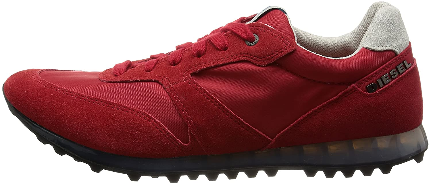 Diesel Men s Choplow Pompeian Red Sneaker Shoes Sz. 9  Buy Online at Low  Prices in India - Amazon.in 738d2983536