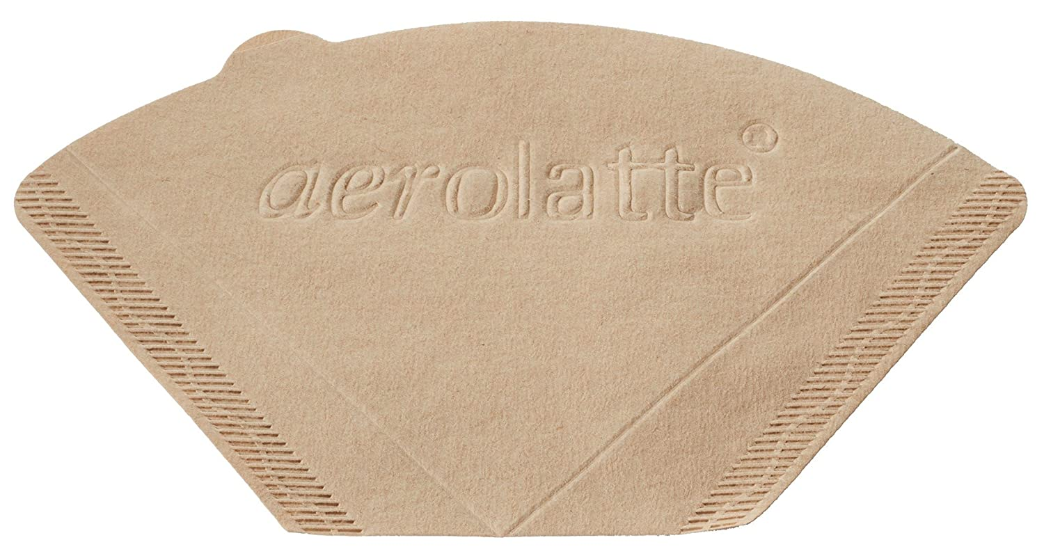 Aerolatte 0086 Coffee Filter Paper, 2, Brown