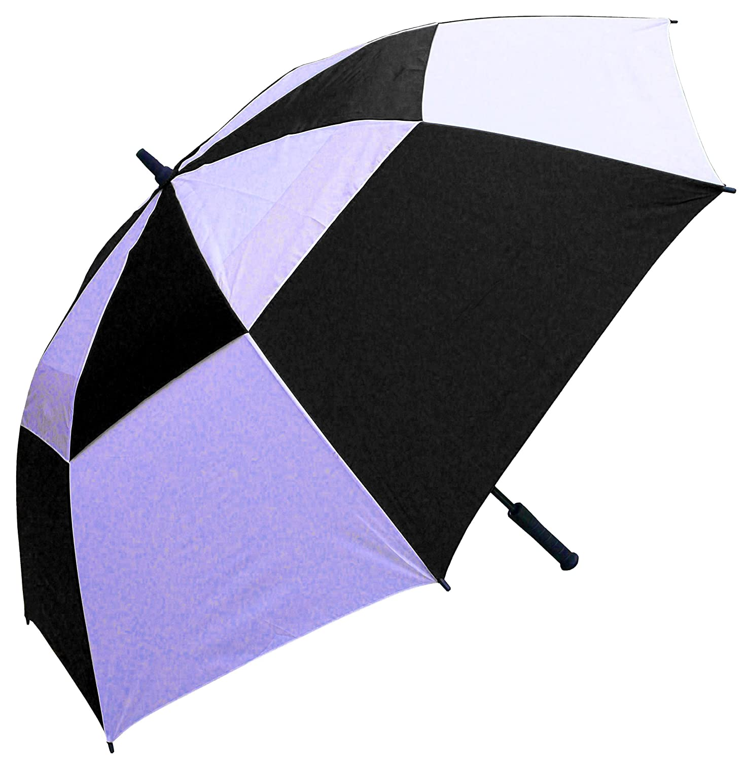 Amazon.com  RainStoppers 62-Inch Double Canopy Golf Umbrella (Black and White)  Sports u0026 Outdoors  sc 1 st  Amazon.com & Amazon.com : RainStoppers 62-Inch Double Canopy Golf Umbrella ...