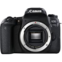 Canon EOS 77D Body Only Digital SLR Camera - Black