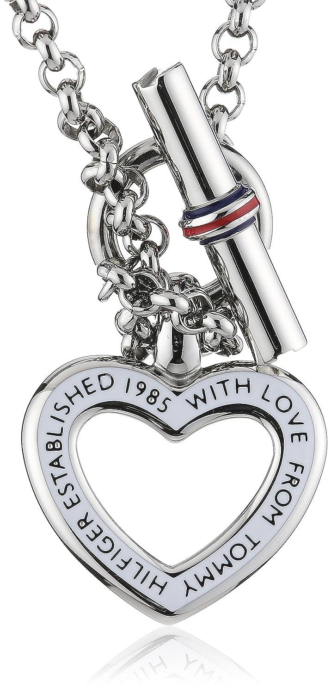 Tommy Hilfiger Jewelry 2700277 Collier Femme Acier