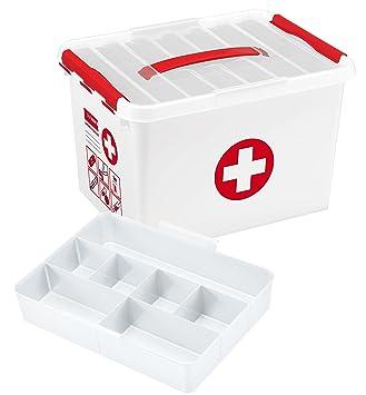 Sunware Erste Hilfe-Aufbewahrungskasten, Größe XL, 22 l: Amazon.de ...