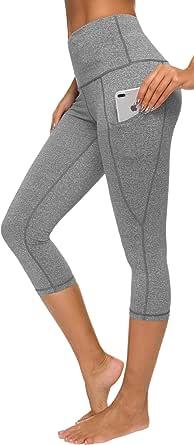 Custer's Night Out Pocket High Waist Yoga Pants,Tummy Control,Pocket Workout Yoga Pant