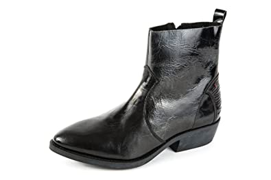 Wrangler Damen Pakwa Komfort Western Boots Schwarz Gr. 37