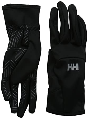 a07c62086 Helly Hansen Softshell SmartGlove – Unisex Gloves black black Size Small