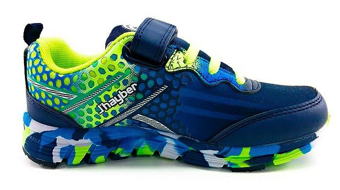 J`Hayber Rokaso zapatillas niño deporte velcro (24 EU): Amazon.es: Zapatos y complementos